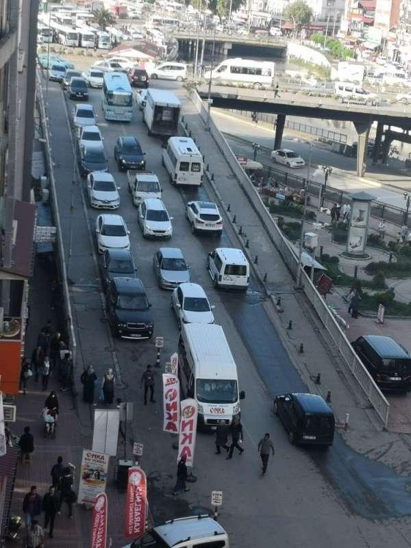 Zonguldakta motorlu kara taşıtları 156 bin 681 oldu