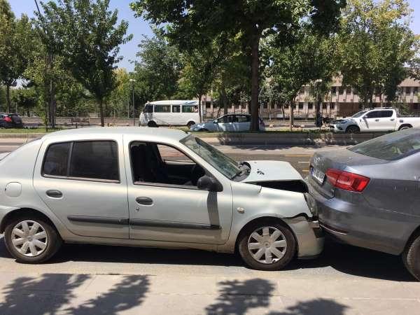 Batmanda trafik kazası: 1 yaralı