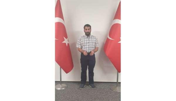 Kırmızı bültenle aranan ve Avrupaya kaçış hazırlığında olduğu belirlenen terör örgütü PKK/KCK üyesi Piro Kar