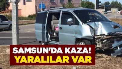 Samsun'da kaza! Yaralılar var