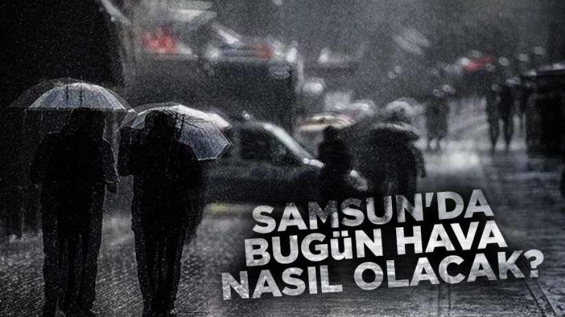 29 Ekim Samsun ve ilçeleri hava durumu, Samsun'da yağmur yağacak mı?