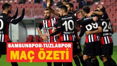 Samsunspor-Tuzlaspor maç özeti