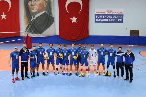 TVF Erkekler Voleybol 1. Ligi: Kocaeli Büyükşehir Belediyesi Kağıtspor: 3 - Halk