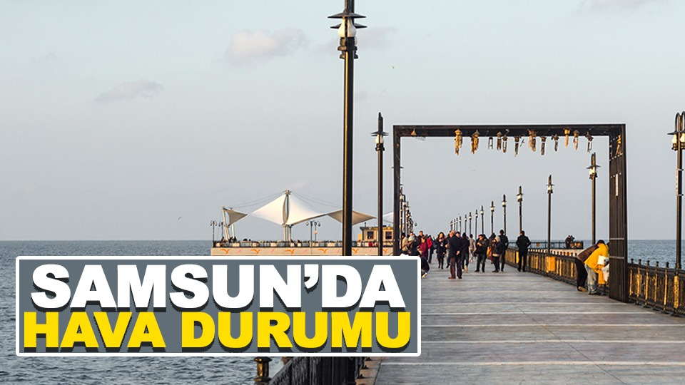 Samsun'da hava durumu (30.06.2019)