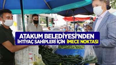 Atakum Belediyesi'nden ihtiyaç sahipleri için İmece Noktası
