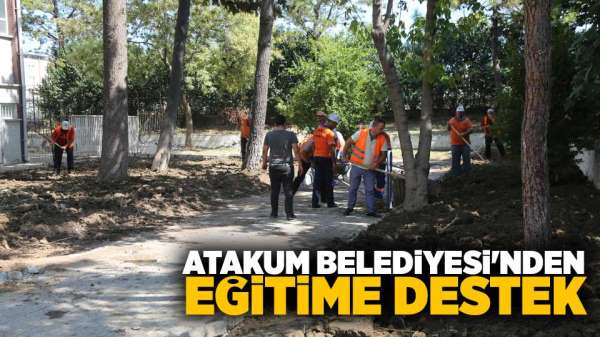 Atakum Belediyesi'nden eğitime destek