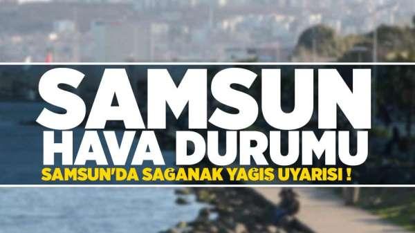 Samsun'da hava nasıl olacak? 29 Ağustos Perşembe Samsun ve ilçeleri hava durumu