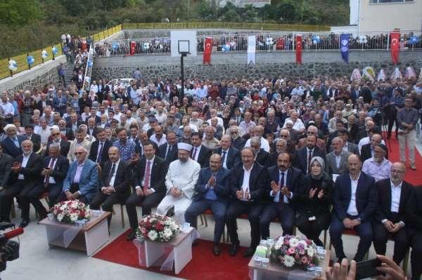 Diyanet İşleri Başkanı Erbaş, Vakfıkebir'de yatılı Kız Kur'an Kursu'nun açılışın
