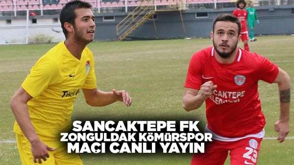 Sancaktepe FK Zonguldak Kömürspor maçı canlı yayın var mı?