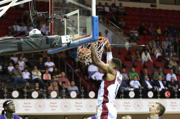 Türkiye Basketbol Süper Ligi:: Gaziantep Basketbol: 78 - Afyon Belediyesi: 71