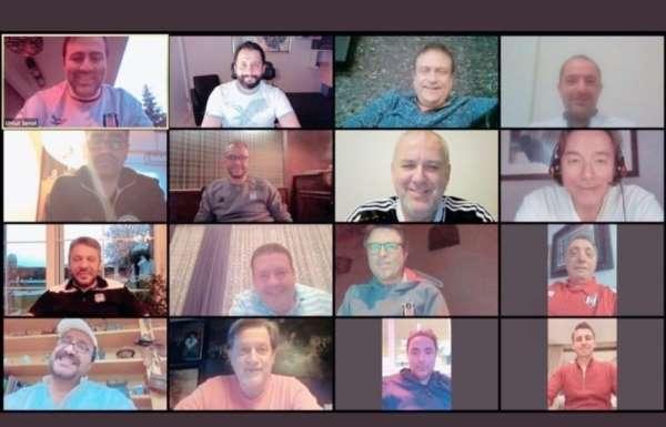 Beşiktaş Yönetim Kurulu video konferans ile toplandı
