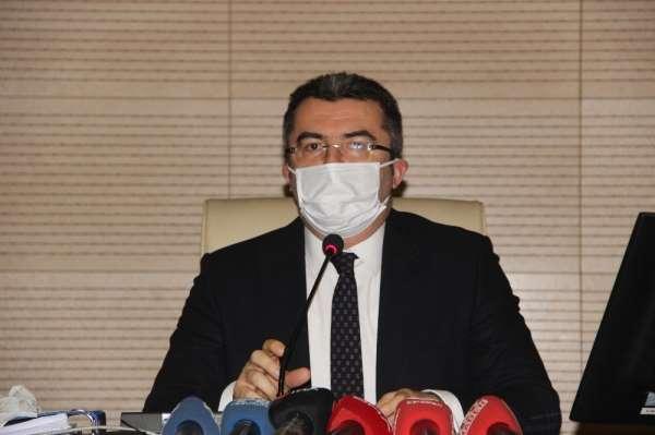 Erzurum Valisi Okay Memiş: 'Virüsle mücadeleyi adeta terörle mücadele gibi değer
