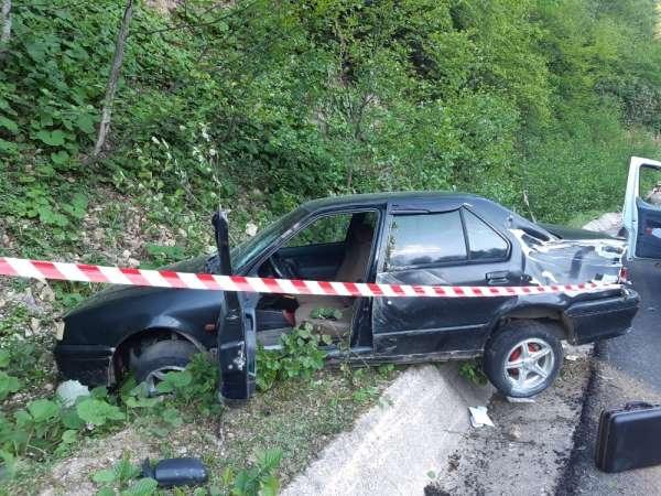 Dereli'de trafik kazası: 1 ölü