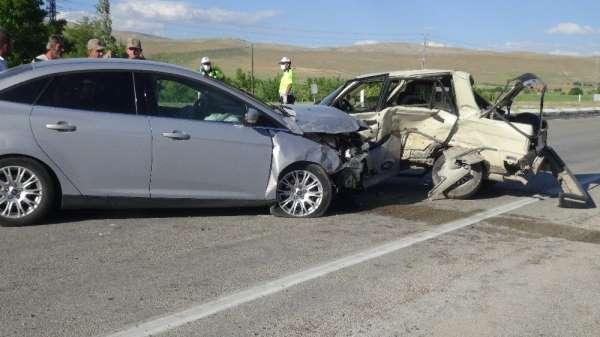 Kahramanmaraş'ta trafik kazası: 8 yaralı