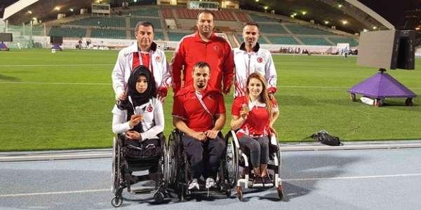 Bağcılarlı engelli sporcular Polonyada Türkiyeyi temsil edecek