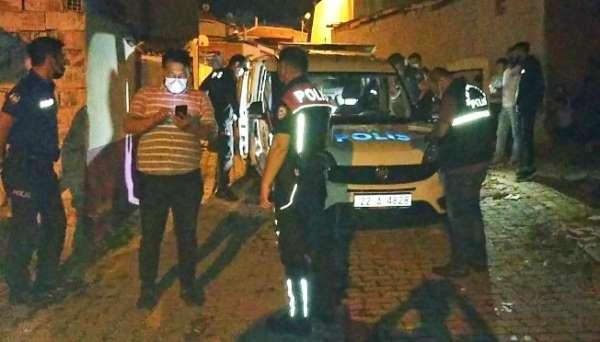 Edirnede polis aracına saldırı