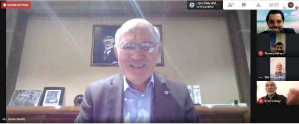 Rektör Savaş, Uşak Üniversitesinin gelişimini anlattı