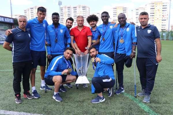 Şampiyonlar Ligi şampiyonu Şahinbey Amputenin başarı hikayesi