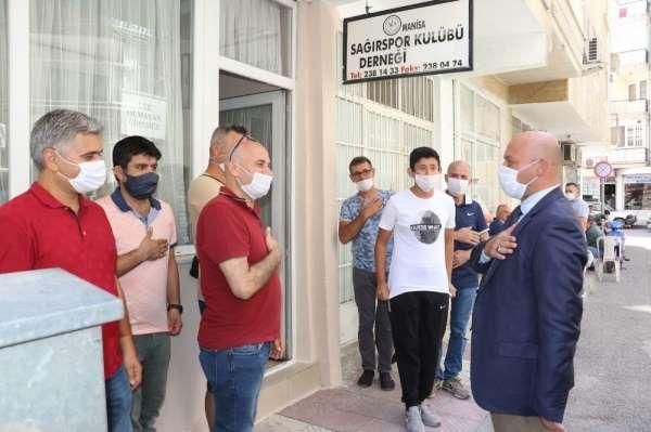 Büyükşehirden Sağırspor'a destek