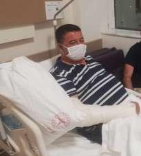 Kuşadası Esnaf Odası Başkanı motosiklet kazasında yaralandı