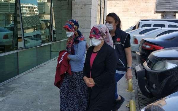 Samsun'da 2 kadın uyuşturucu ticaretinden gözaltına alındı