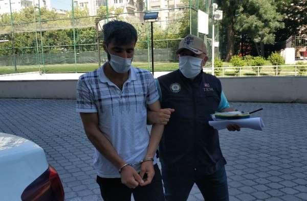 Samsun'da DEAŞ'tan 1 kişi adliyeye sevk edildi