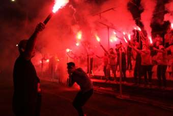 Samsunspor'un 55 kuruluş yıl dönümü kutlandı