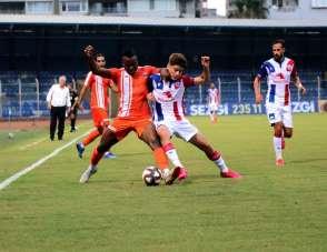 TFF 1. Lig: Adanaspor: 0 - Altınordu: 0 (İlk yarı)