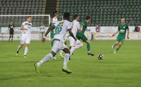 TFF 1. Lig: Giresunspor:0- Bursaspor: 0 (İlkyarı Sonucu)