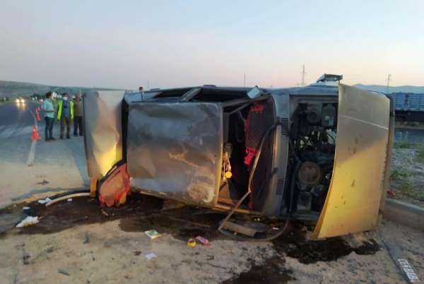Ahlatta trafik kazası: 1 yaralı