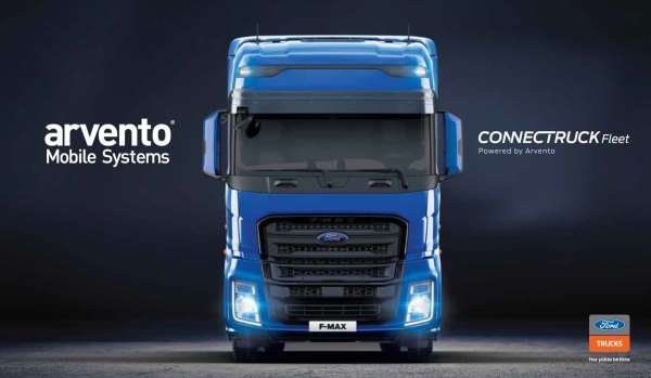 Arvento ile Ford Truckstan teknolojik iş birliği