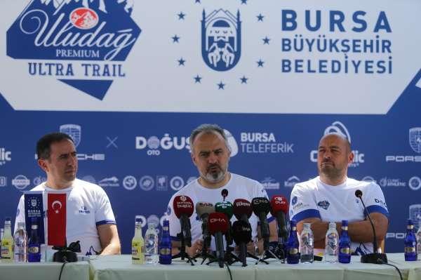 Binlerce yabancı sporcu Uludağda ultra maratonda buluşacak