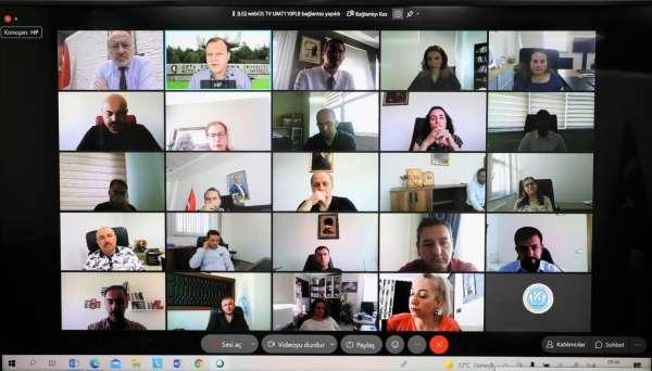 Kayseri Üniversitesinde Yükseköğretimde Veriye Dayalı Performans Yönetimi Toplantısı