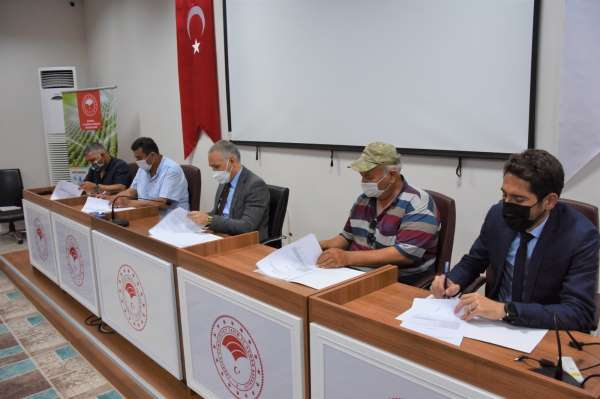 Manisada 71 üretici ile hibe sözleşmesi imzalandı
