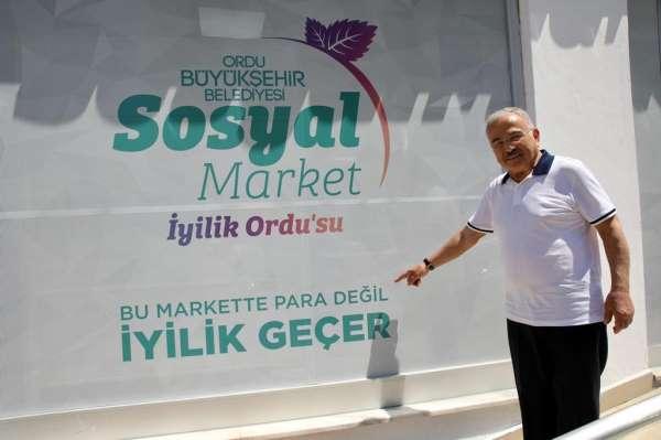 Orduda Sosyal Market açılacak