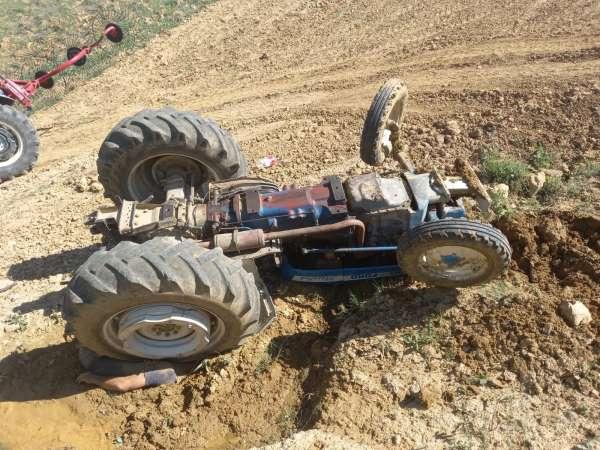 Simavda traktör kazası: 1 ölü
