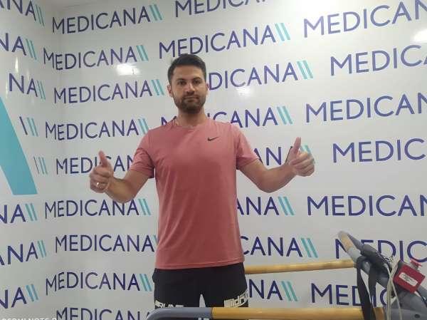 Sivassporda 3 futbolcu sağlık kontrolünden geçti