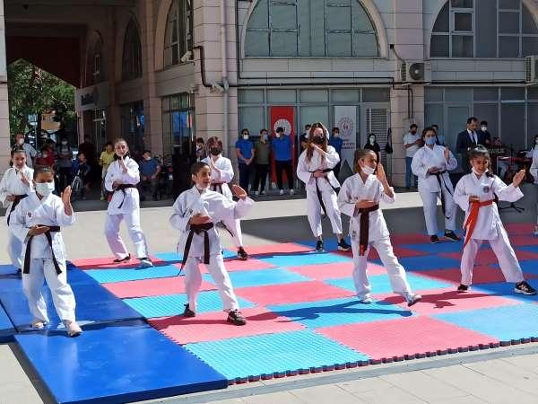 Şuhutta yaz spor okulları açıldı