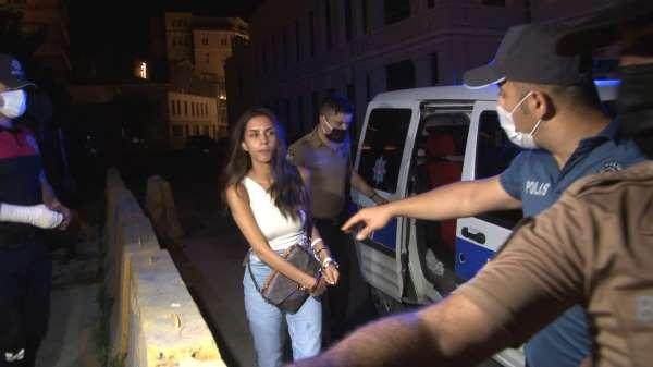 Ünlü oyuncu Ayşegül Çınar bıçaklı kavga sonrası gözaltında:7si polis 12 yaralı