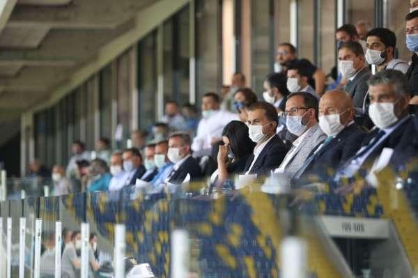 Adana Demirspor - Fatih Karagümrük maçında protokol tribününe yoğun ilgi