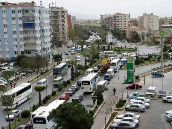 Aydın'da toplam araç sayısı 464 bin 459'a ulaştı