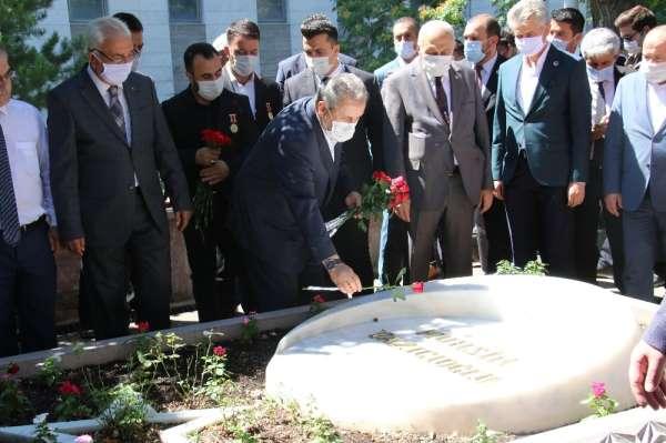 BBP Genel Başkanı Destici'den Muhsin Yazıcıoğlu'nun kabrine ve şehitliğe ziyaret