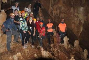 CİSAD üyeleri Sümbül Mağarası'nda
