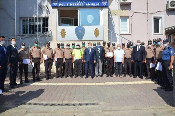 Fatsa'da bekçiler için sertifika töreni