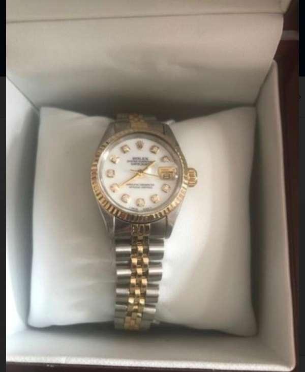 İcradan satılık Rolex marka kol saati