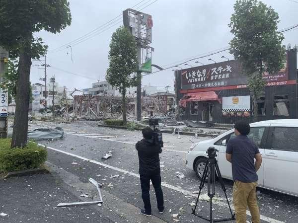 Japonyada restoranda patlama: 1 ölü, 18 yaralı