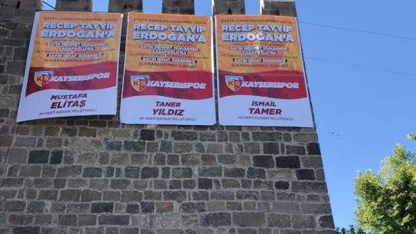 Kayseri'de Kayserispor coşkusu