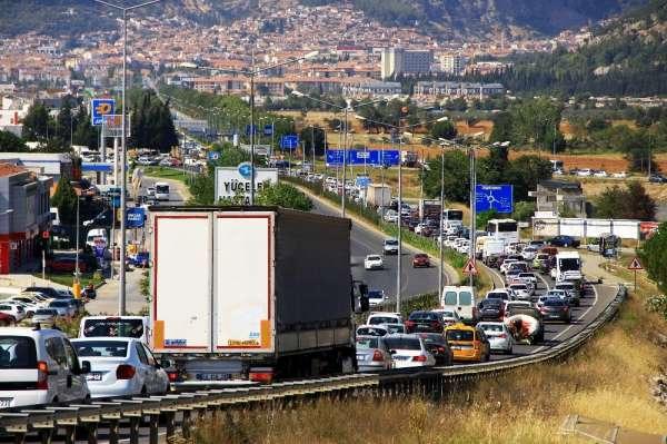 Muğla'da araç sayısı nüfusun yarısını geçti