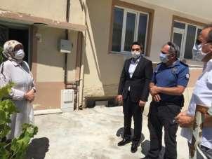 Osmaneli polisinden şehit ailesine bayram ziyareti