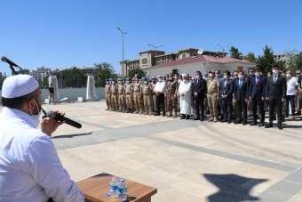 Siirt'te Kurban Bayramı arifesinde şehitlik ziyareti